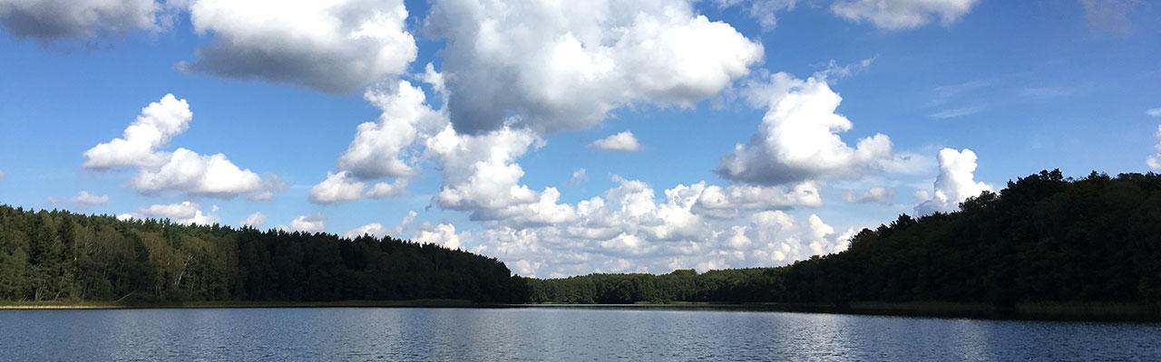 workshops-unternehmen-katrin-rahnefeld-coaching-beratung-kreatives-schreiben-see-wald-wolken-blauer-himmel